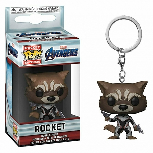 Funko POP Rocket Keychain