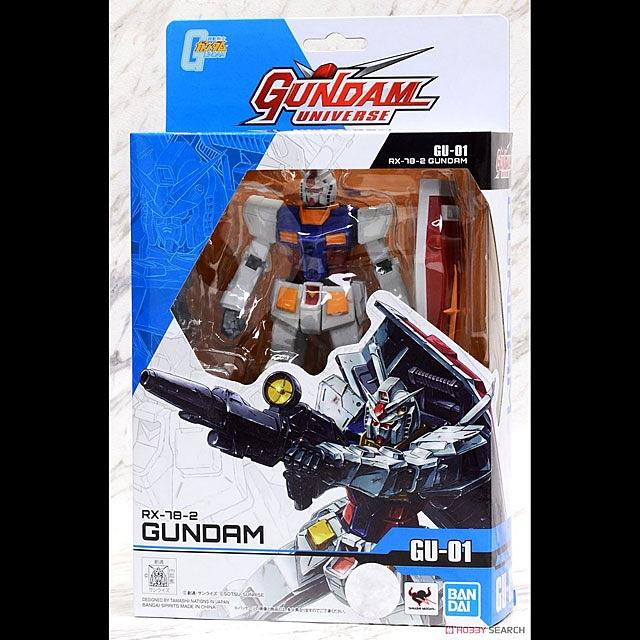 "Gundam universe GN-01 RX-78-2 6/"" Action Figure Bandai"