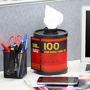 100 Film Paper Towel Box