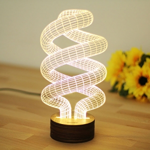 3D Spiralism Night Lamp