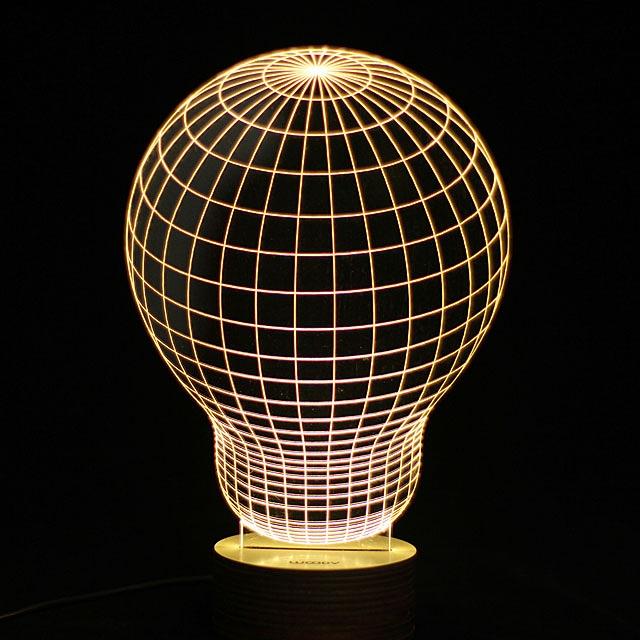 3D Bulb Night Lamp