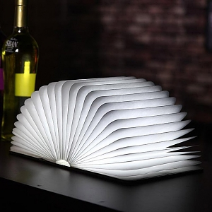 Foldable Book LED Lamp