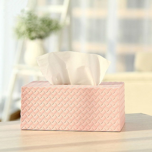 Twilled Paper Towel Box