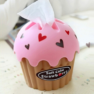 Cup Cake Paper Towel Box