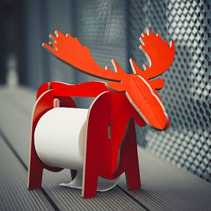 Elk Paper Roll Holder