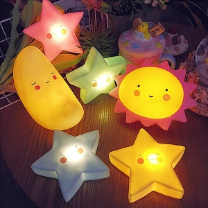 Sun Moon Star Night Light