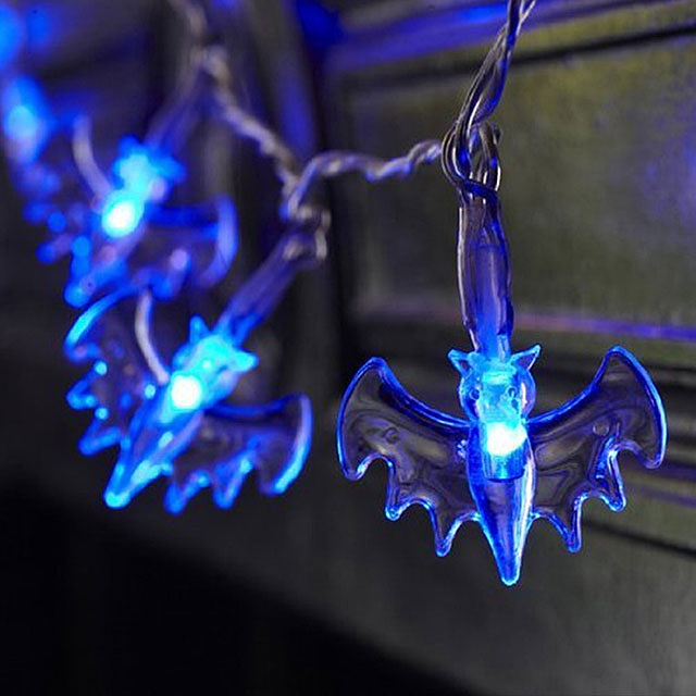 Halloween Bat 20-LED Decor Lights