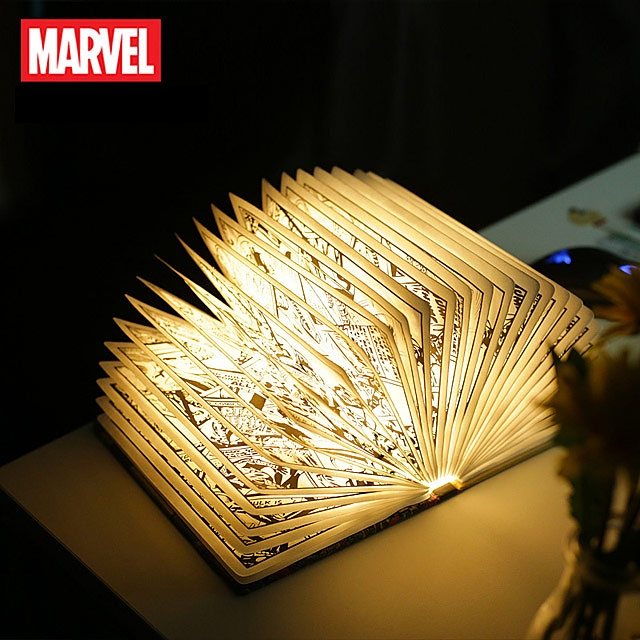 MARVEL Foldable Book LED Lamp
