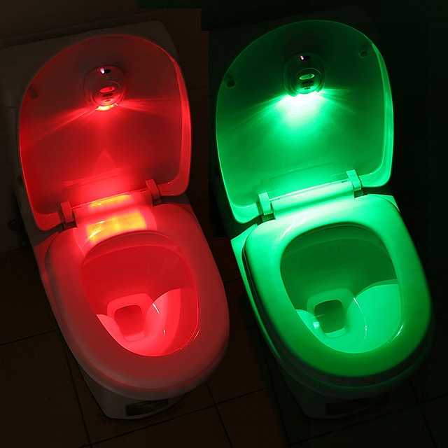 Toilet Seat Sensor Light
