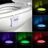 Motion Sensor LED Toilet Light