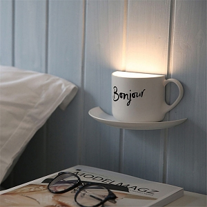Voice Sensing Coffee Cup Lamp