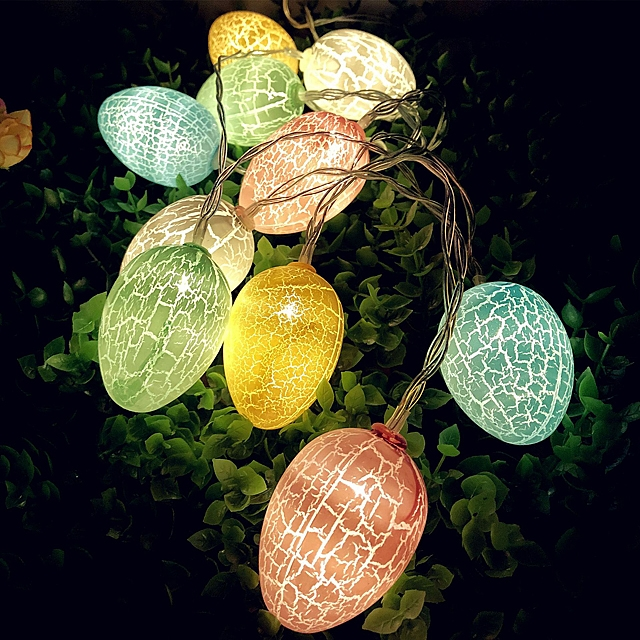 Easter Cracked Eggs Decor Light