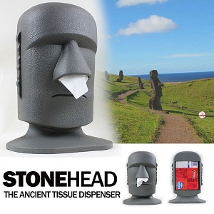 StoneHead Tissue Box