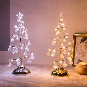 Crystal LED X'mas Tree