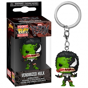 Funko POP Marvel Venomized Hulk Keychain