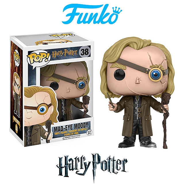 Funko POP Harry Potter - Mad-Eye Moody Action Figure