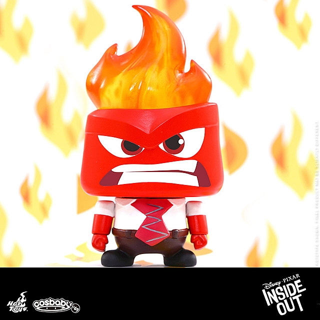 Hot Toys Hot Toys Inside Out - Anger Cosbaby Collectible