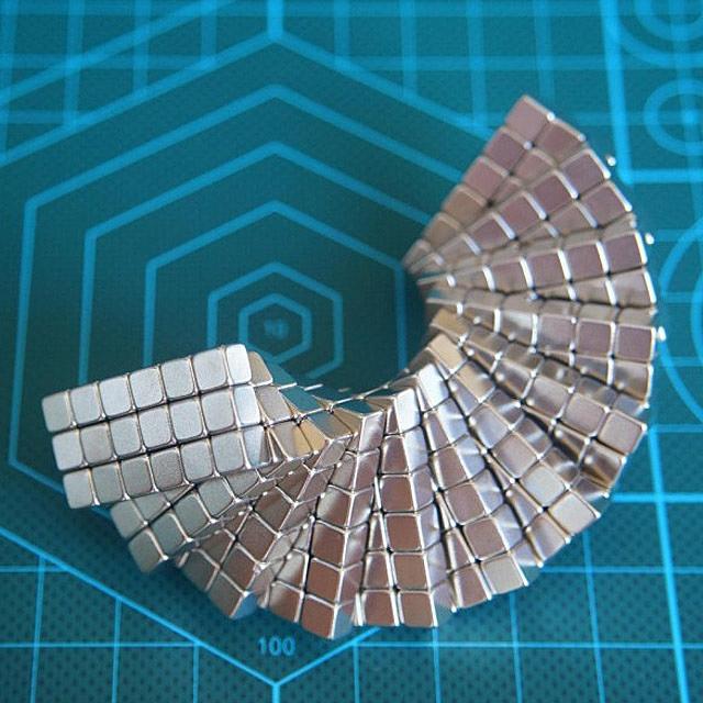 Kingmagic 5mm Magnetic Square Buckyballs 216pcs