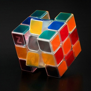3x3x3 Color Transparent IQ Brick