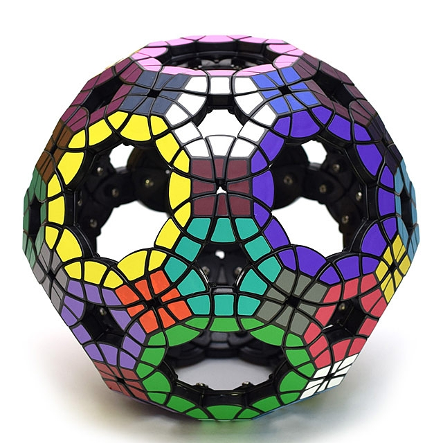 Void Truncated Icosi Dodecahedron IQ Brick