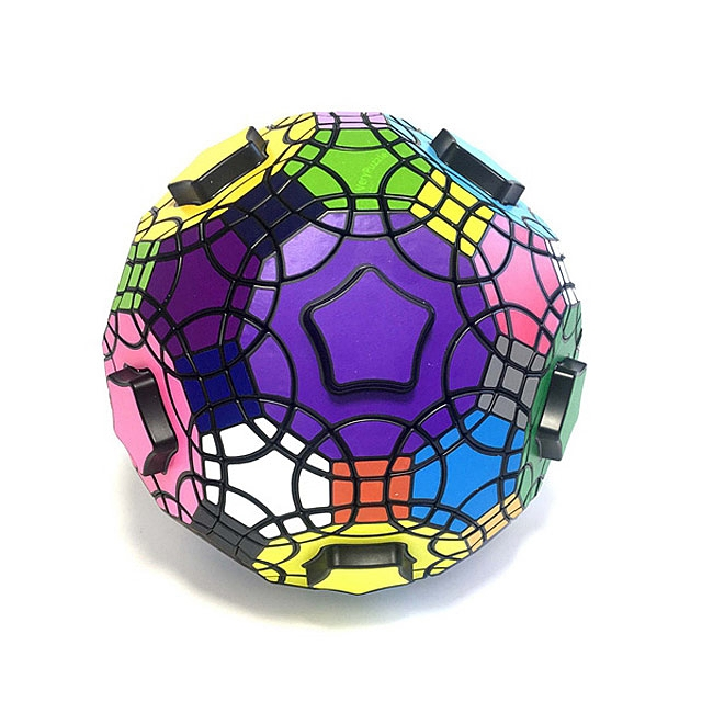VeryPuzzle Truncated Icosidodecahedron IQ Brick