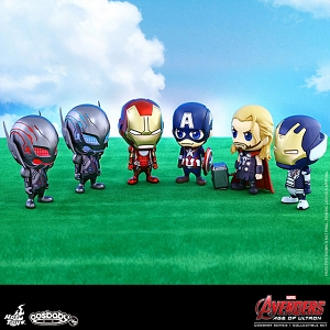 Hot Toys Avengers Age of Ultron (Series 1) Cosbaby (S) Bobble-Head Set