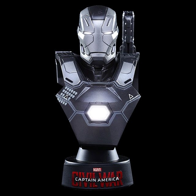 Hot Toys War Machine Mark Iii 1 6th Scale Collectible Mini Bust