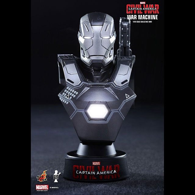 Hot Toys War Machine Mark III 1/6th Scale Collectible Mini Bust