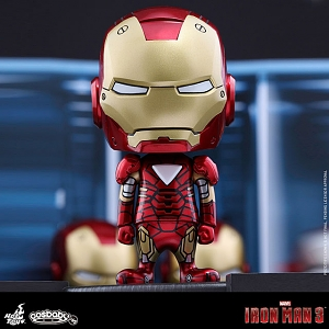 Hot Toys Iron Man Mark VI Cosbaby Bobble-Head
