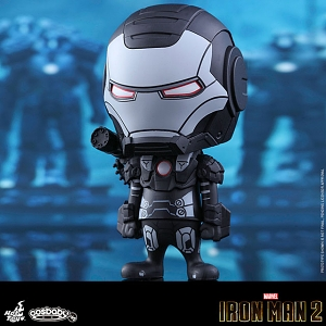 Hot Toys Iron Man War Machine (Comic Color Version) Cosbaby Bobble-Head