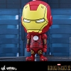 Hot Toys Iron Man Mark III (Comic Color Version) Cosbaby Bobble-Head