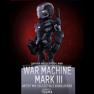 Hot Toys War Machine Mark 3 Artist Mix Bobble-Head Figure
