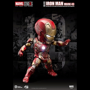 Beast Kingdom Marvel 10th Anniversary Iron Man MK 43 Battle Damaged Ver (EAA-024)
