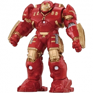 Takara Tomy Tomica Metal Figure Collection - Marvel Hulk Buster (Completed)