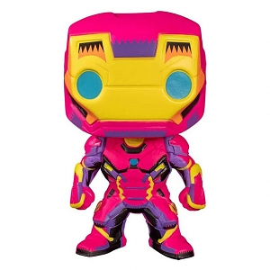 Funko POP Marvel Black Light - Iron Man #649 Figure