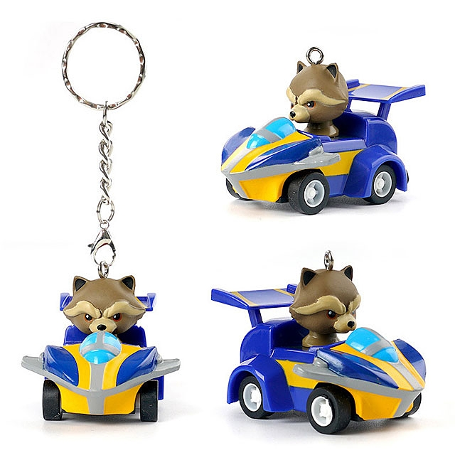 Marvel AVENGERS Infinity War Series Pull Back Car Keychain