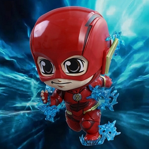 Hot Toys Justice League - The Flash Cosbaby (S) Bobble-Head