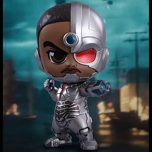 Hot Toys Justice League - Cyborg Cosbaby (S) Bobble-Head