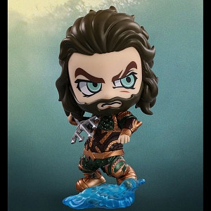 Hot Toys Justice League - Aquaman Cosbaby (S) Bobble-Head