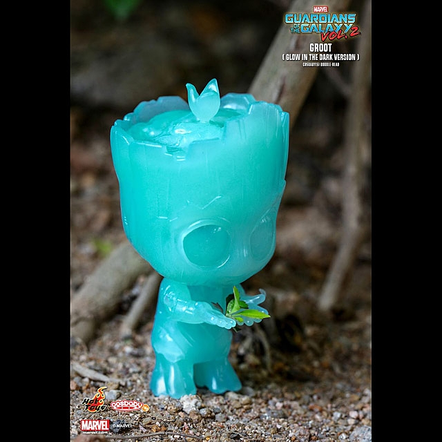 Hot Toys Guardian of the Galaxy Vol. 2 - Groot Glow In The Dark Version Cosbaby (S) Bobble-Head
