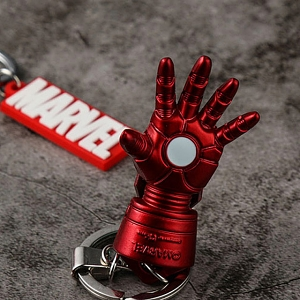 Marvel Iron Man Hand Alloy Keychain
