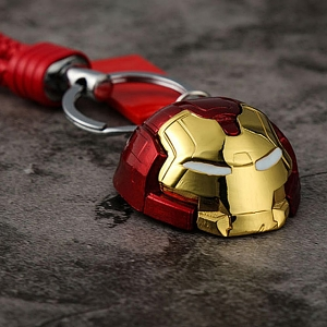 Marvel Hulkbuster Head Alloy Keychain