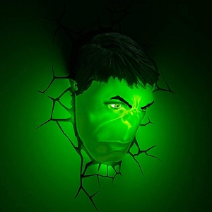 Hulk Mask 3D Decorative Wall Lamp