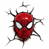 Mini Spider-Man Mask 3D Decorative Touch Wall Lamp