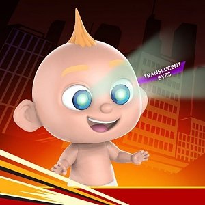 Hot Toys Incredibles 2 - Jack-Jack (Laser Eyes) Cosbaby (S) Bobble-Head