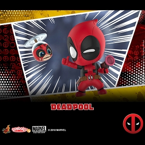 Hot Toys Deadpool and Headpool Cosbaby (S) Bobble-Head