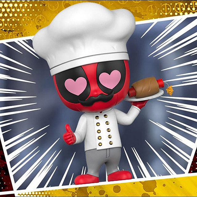 Hot Toys Chef Deadpool Cosbaby (S) Bobble-Head