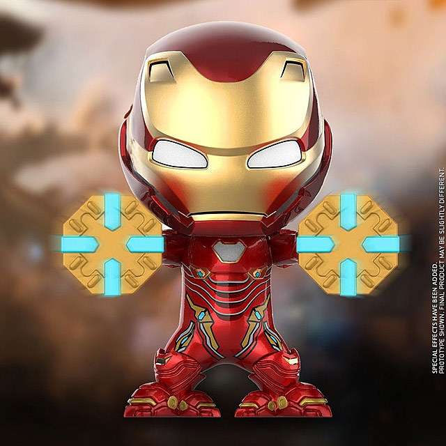 Hot Toys Iron Man Mark L Power Mallet Version Cosbaby (S) Bobble-Head