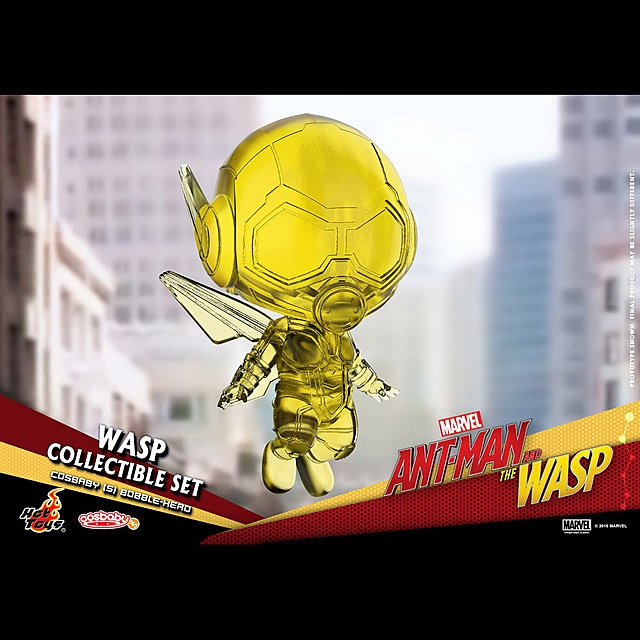 Hot Toys Ant-Man and Wasp - Wasp Cosbaby (S) Bobble-Head Collectible Set