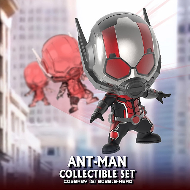 Hot Toys Marvel Ant-Man and the WASP Ant-Man on Flying Ant Cosbaby Set